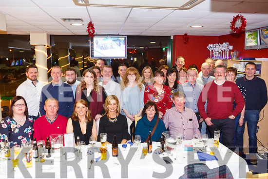kostal abbeyfeale enjoying a staff christmas party at the dogs in the Kingdom Greyhound Stadium on Saturday