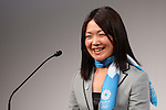 Mami Sato, MARCH 4, 2013 : Mami Sato attends a briefing about presentations of Tokyo 2020 bid Committee at Hotel Okura in Tokyo, Japan. (Photo by AFLO SPORT)