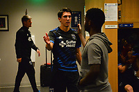 San Jose, CA - Monday July 10, 2017: Shea Salinas after a U.S. Open Cup quarterfinal match between the San Jose Earthquakes and the Los Angeles Galaxy at Avaya Stadium.