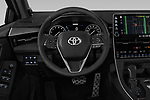Car pictures of steering wheel view of a 2019 Toyota Avalon Touring 4 Door Sedan