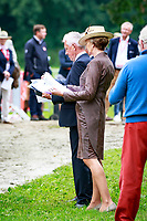 The Ground Jury during the First Horse Inspection at the 2017 POL-FEI European Eventing Championship, Strzegom, Poland. Wednesday 16 August. Photo Copyright: Libby Law Photography