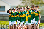 Kerry v Tipperary in the Munster U17 Football Championship at Austin Stack Park Tralee on Tuesday evening.