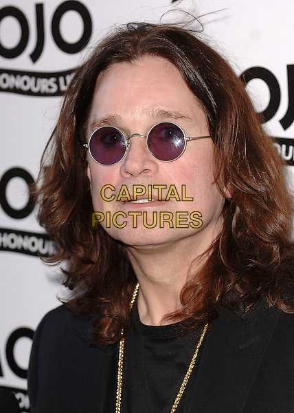 OZZY OSBOURNE.The MOJO Honours List Ceremony, The Brewery,London, England..June 18th , 2007.headshot portrait sunglasses shades .CAP/BEL.©Belcher/Capital Pictures