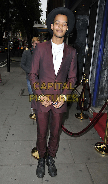 LONDON, ENGLAND - AUGUST 27: Harley Sylvester Alexander Sule attends the &quot;The Guvnors&quot; VIP film screening, Odeon Covent Garden cinema, Shaftesbury Avenue, on Wednesday August 27, 2014 in London, England, UK. <br /> CAP/CAN<br /> &copy;Can Nguyen/Capital Pictures