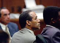 JUL 13, 1995 O.J. Simpson Murder Trial in Los Angeles, CA