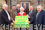 Pictured at the launch of the Kingdom County Fair, which takes place on Sunday May 12th in the Tralee Racecourse, were l-r: James McElligott, Michael Brady (PRO) Michael Cronin (beef secretary) Celine Slattery (former organising secretary) Jim Kelly (treasurer) Micheál Kerins (founder) and Michael Fleming (Sheep section)