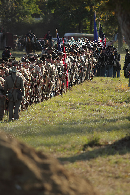 Civil War Charleston South Carolina Battle of Secessionville Reinactment at Boone Hall Plantation Mt Pleasant