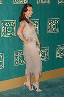 HOLLYWOOD, CA - AUGUST 7: Ming-Na Wen at the premiere of Crazy Rich Asians at the TCL Chinese Theater in Hollywood, California on August 7, 2018. <br /> CAP/MPI/DE<br /> &copy;DE//MPI/Capital Pictures