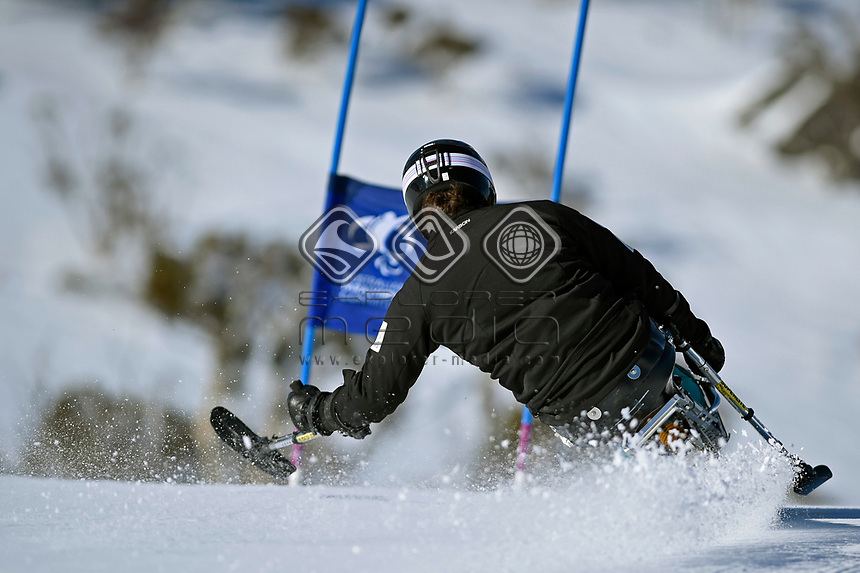 Sam Tait / Athlete<br /> Australian Paralympic Committee<br /> 2017 Winter Alpine training camp for <br /> 2018 Pyeongchang South Korea Paralympics<br /> Jindabyne / Guthega Ski resort <br /> NSW / August 14-18th 2017<br /> &copy; Sport the library / Jeff Crow