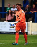 Gainsborough Trinity's Charlie Dixon<br /> <br /> Photographer Andrew Vaughan/CameraSport<br /> <br /> Pre-Season Friendly - Gainsborough Trinity v Lincoln City - Saturday 15th July 2017 - The Gainsborough Martin &amp; Co Arena - Gainsborough<br /> <br /> World Copyright &copy; 2017 CameraSport. All rights reserved. 43 Linden Ave. Countesthorpe. Leicester. England. LE8 5PG - Tel: +44 (0) 116 277 4147 - admin@camerasport.com - www.camerasport.com