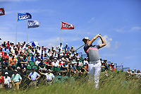 Gregory Bourdy (FRA) tees off the 1st tee to start his match during Thursday's Round 1 of the 117th U.S. Open Championship 2017 held at Erin Hills, Erin, Wisconsin, USA. 15th June 2017.<br /> Picture: Eoin Clarke | Golffile<br /> <br /> <br /> All photos usage must carry mandatory copyright credit (&copy; Golffile | Eoin Clarke)