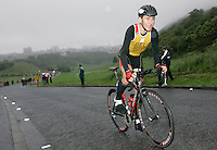 16 JUN 2007 - EDINBURGH, UK - Benny Vansteelant (BEL) - EUROPEAN ELITE MENS DUATHLON CHAMPIONSHIPS. (PHOTO (C) NIGEL FARROW)