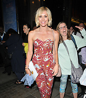 "Jenni Falconer at the ""Waitress"" cast change media night, Adelphi Theatre, The Strand, London, England, UK, on Tuesday 02nd July 2019.<br /> CAP/CAN<br /> ©CAN/Capital Pictures"