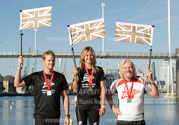 The Virgin Triathlon 2012.Excel Arena  Docklands.London.22nd Sept 2012.Pics by Simon Burchell / Featureflash