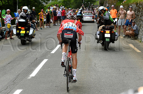 23.07.2014. Gaudens  to Saint-Lary Pla d'Ade, France. Tour de France Cycling championships, stage 17.  VAN DEN BROECK Jurgen BEL of Lotto Belisol