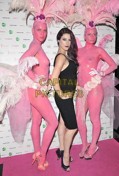 Jasz Vegas attends the Filippo iOco's PINK London 2015 fundraiser in aid of the Pink Ribbon Foundation, Playboy Club London, Old Park Lane, London, England, UK, on Tuesday 29 September 2015. <br /> CAP/CAN<br /> &copy;CAN/Capital Pictures