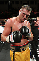 Tyson Fury defeats Rich Power in a Heavyweight boxing contest at York Hall, Bethnal Green, promoted by Hennessy Sports / Shobox: The Next Generation - 10/09/10 -