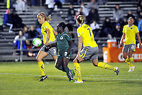 Alliison Falk #3, Eniola Aluko #9, Sara Larsson...Saint Louis Athletica defeated Philadelphia Independence 2-1 at Anheuser Busch Soccer Park, Fenton, MO.