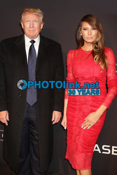 Donald Trump and Melania Trump 2015<br /> Photo By John Barrett/PHOTOlink