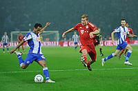 Fussball Bundesliga Saison 2011/2012 26. Spieltag Hertha BSC Berlin - FC Bayern Muenchen V.l.: RAFFAEL (Hertha BSC), Holger BADSTUER (FCB).