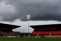 Dark clouds gather over The Hive in the second half during Barnet vs Solihull Moors, Vanarama National League Football at the Hive Stadium on 28th September 2019