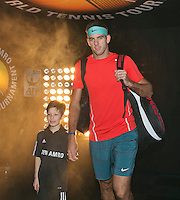 12-02-14, Netherlands,Rotterdam,Ahoy, ABNAMROWTT, Juan-Martin Del Potro<br /> Photo:Tennisimages/Henk Koster