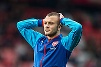 Jack Wilshere of Arsenal ahead of the Premier League match between Bournemouth and Arsenal at the Goldsands Stadium, Bournemouth, England on 14 January 2018. Photo by Andy Rowland.