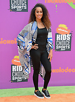 Skylar Diggins-Smith at Nickelodeon's Kids' Choice Sports 2017 at UCLA's Pauley Pavilion. Los Angeles, USA 13 July  2017<br /> Picture: Paul Smith/Featureflash/SilverHub 0208 004 5359 sales@silverhubmedia.com