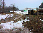 Manure runoff pollition control - agriculture