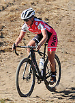 October 17, 2015 - Boulder, Colorado, U.S. - Elite cyclist, Kate Powlison, in action during the U.S. Open of Cyclocross, Valmont Bike Park, Boulder, Colorado.