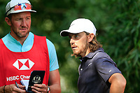 Tommy Fleetwood (ENG) during the pro-am at the WGC HSBC Champions, Sheshan Golf Club, Shanghai, China. 30/10/2019.<br /> Picture Fran Caffrey / Golffile.ie<br /> <br /> All photo usage must carry mandatory copyright credit (© Golffile | Fran Caffrey)