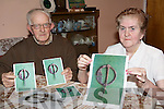 MORTARA BROCHE: P.J. and Sheila Edgeworth, Mortara, Ballylondford who found a 1,500 year old Celtic Broche in a peice of turf taken from his own bog last year.