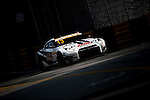 Katsumasa Chiyo races the Macau GT Cup during the 61st Macau Grand Prix on November 14, 2014 at Macau street circuit in Macau, China. Photo by Aitor Alcalde / Power Sport Images