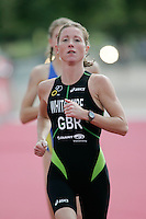 22 JUL 2007 - LONDON, UK - Andrea Whitcombe - Corus Elite Triathlon Series. (PHOTO (C) NIGEL FARROW)
