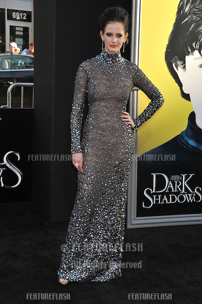 Actress Eva Green arrives at the premiere of Warner Bros. Pictures' 'Dark Shadows' at Grauman's Chinese Theatre.