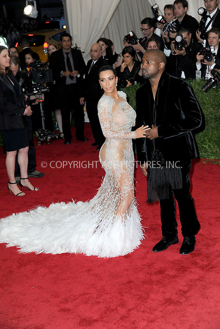 WWW.ACEPIXS.COM<br /> May 4, 2015...New York City<br /> <br /> Kim Kardashian and Kanye West attending the Costume Institute Benefit Gala  celebrating the opening of China: Through the Looking Glass at The Metropolitan Museum of Art on May 4, 2015 in New York City.<br /> <br /> Please byline: Kristin Callahan<br /> ACEPIXS.COM<br /> Tel# 646 769 0430<br /> e-mail: info@acepixs.com<br /> web: http://www.acepixs.com