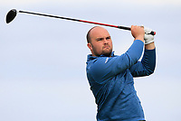 Jordan Hood (Galgorm Castle) on the 9th tee during Round 2 of The East of Ireland Amateur Open Championship in Co. Louth Golf Club, Baltray on Sunday 2nd June 2019.<br /> <br /> Picture:  Thos Caffrey / www.golffile.ie<br /> <br /> All photos usage must carry mandatory copyright credit (© Golffile   Thos Caffrey)