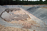 LANDFILL MANAGEMENT<br /> Landfill Pit Lining<br /> Landfill pits are layered with a thick, plastic lining which is used to prevent soil contamination by toxic seepage. Sullivan County, NY