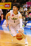 Yuko Oga (Sunflowers), MARCH 19, 2013 - Basketball : The 14th Women's Japan Basketball League Playoffs Final Game #4 between Toyota Antelopes 61-72 JX Sunflowers at 2nd Yoyogi Gymnasium, Tokyo, Japan. (Photo by AFLO SPORT) [1156]