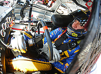 May 30, 2008; Dover, DE, USA; Nascar Sprint Cup Series driver Elliott Sadler during practice for the Best Buy 400 at the Dover International Speedway. Mandatory Credit: Mark J. Rebilas-US PRESSWIRE