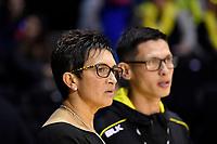 Pulse&rsquo; Coach Yvette McCausland-Durie, ANZ Premiership - Pulse v Stars at TSB Arena, Wellington, New Zealand on Monday 13 May 2019. <br /> Photo by Masanori Udagawa. <br /> www.photowellington.photoshelter.com