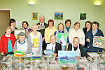 Artists who participated in the Kerry Education Services Art education class at Cluin house, Killarney on Tuesday was front row l-r; Dan Cahill, Maureen O'Mahony, Pat Cunneen, Jerry O'Sullivan. back row: Ann O'Connor, Tara Donaghy Art teacher, Kathleen O'Neill, Seamus O'Doherty, Catherine Murphy, Bridie O'Riordan, Julie O'Shea, Margaret O'Brien, Geraldine O'Sullivan and Teresa O'Doherty