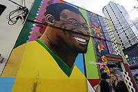 12.06.2018 - Grafite de Pelé em São Paulo