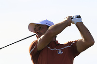 Francesco Molinari (Team Europe) tees off the 13th tee during Saturday's Foursomes Matches at the 2018 Ryder Cup 2018, Le Golf National, Ile-de-France, France. 29/09/2018.<br /> Picture Eoin Clarke / Golffile.ie<br /> <br /> All photo usage must carry mandatory copyright credit (© Golffile | Eoin Clarke)