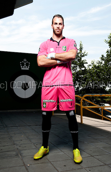 Belgian football player Olivier Werner (Belgium, 24/07/2014)