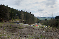 Liege-Bastogne-Liege 2012.98th edition..peloton approaching