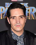 HOLLYWOOD, CA - JANUARY 29: Actor David Dastmalchian attends the premiere of Disney and Marvel's 'Black Panther' at  the Dolby Theater on January 28, 2018 in Hollywood, California.