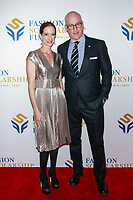 NEW YORK, NY - JANUARY 10: Vanessa Friedman and Peter Arnold  at 2018 Fashion Scholarship Fund Gala at the Hilton New York Midtown  on January 10, 2019 in New York City.         <br /> CAP/MPI99<br /> &copy;MPI99/Capital Pictures