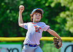 1 June 2013: The Burlington American Expos in Little League action against the Burlington American Athletics at Calahan Park in Burlington, Vermont. Mandatory Credit: Ed Wolfstein Photo