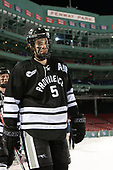 Kyle McKenzie (PC - 5) - The Boston College Eagles defeated the Providence College Friars 3-1 (EN) on Sunday, January 8, 2017, at Fenway Park in Boston, Massachusetts.